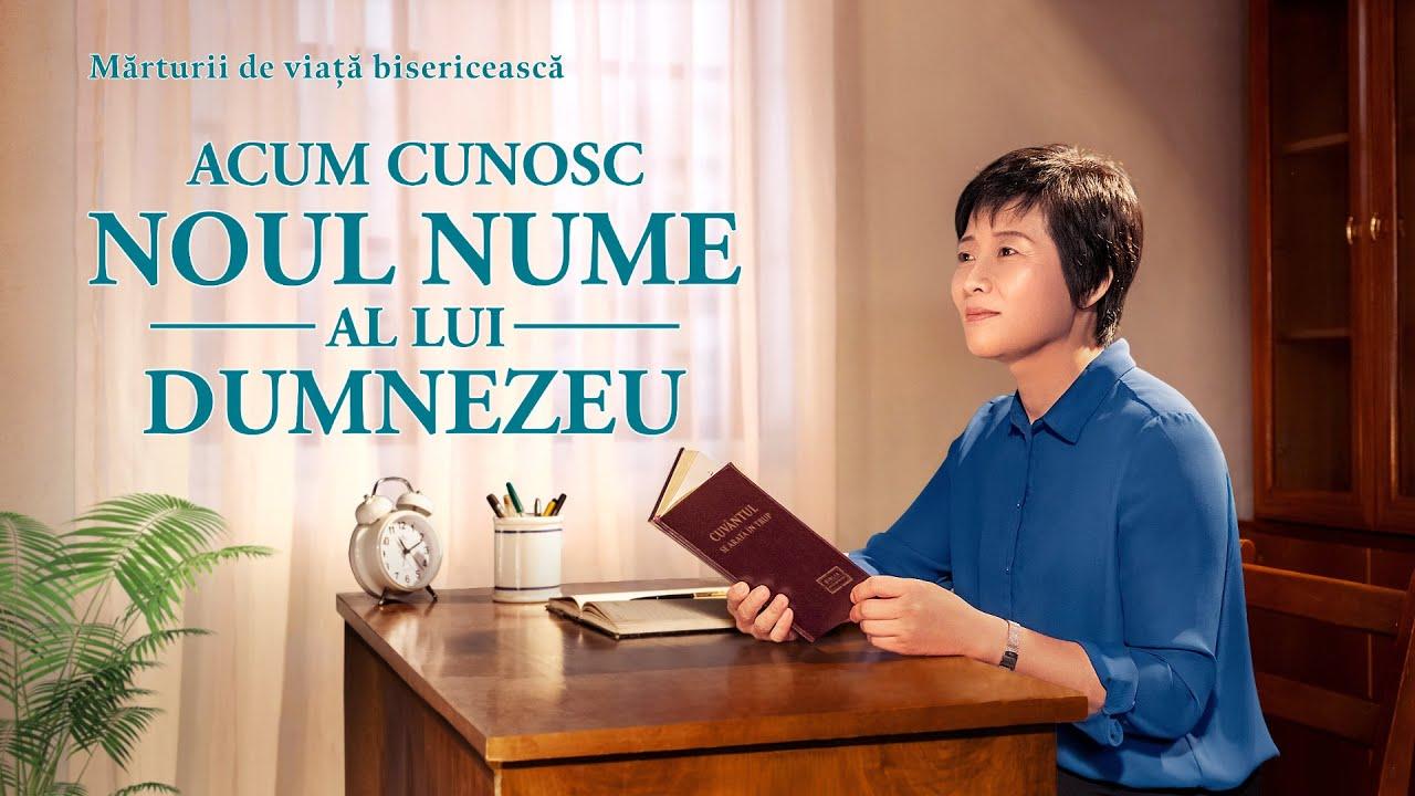 """Video de mărturie creștină 2020 """"Acum cunosc noul nume al lui Dumnezeu"""""""
