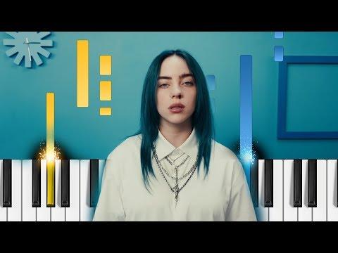 Billie Eilish - Bad Guy - EASY Piano Tutorial