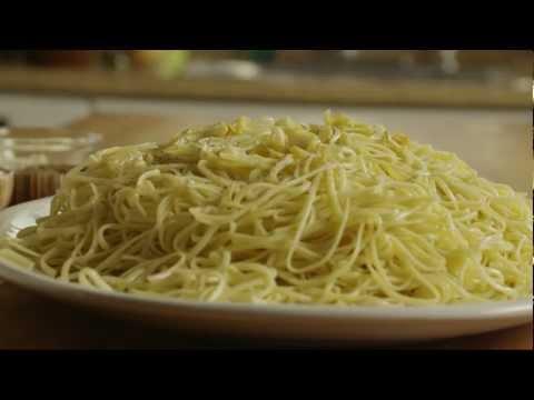 How To Make Easy Pasta And Garlic | Pasta Recipe | Allrecipes.com