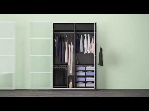 tipps zum aufbau von ikea pax schrank doovi. Black Bedroom Furniture Sets. Home Design Ideas