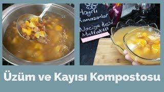 Üzüm ve Kayısı Kompostosu Tarifi (Ramazan İçecekleri) - Naciye Kesici - Yemek Tarifleri