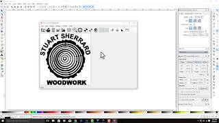 How to convert a jpg to dxf with inkscape for T2 Laser