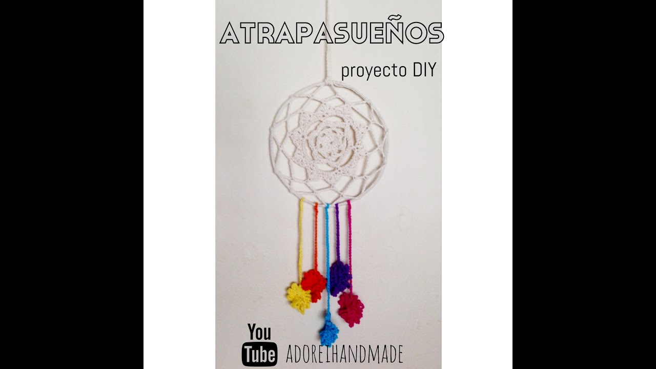 ATRAPASUEÑOS tejido al crochet tutorial - YouTube