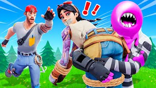 La CHIC KIDNAPPE ma COPINE JULIE sur FORTNITE