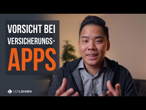 Vorsicht Bei Versicherungsmanager Apps! | Weisst Du, Was Da Genau PASSIERT?