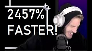 BEATING PEWDIEPIE AT THE WORLD'S HARDEST PUZZLE (2457% FASTER!)(PROBABLY CLICKBAIT)