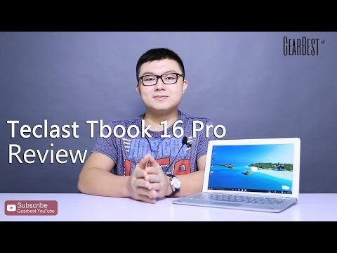 Четириядрен таблет Teclast Tbook 16 Pro 2 in 1 Tablet PC Windows 10 + андроид 5.1 16