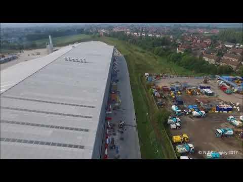 Ibstock Brick - New Factory Drone Footage
