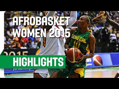 Cameroon v Senegal - Final - Game Highlights - AfroBasket Women 2015