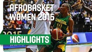 Cameroon v Senegal - Final - Game Highlights - AfroBasket Women 2015