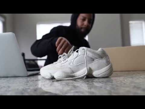 wholesale dealer 7a203 b60c8 adidas Yeezy Desert Rat 500 (Dope or Nope) + On Foot