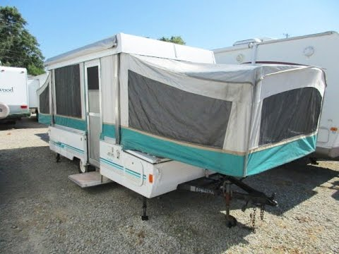 HaylettRV.com - 1994 Coleman Pioneer Avalon Used Fold Down Pop Up Tent C&er by Fleetwood RV : coleman pop up canopy - memphite.com