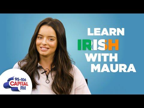 WATCH: Maura Higgins explains Irish slang from 'banjaxed' to 'beour' to UK radio listeners