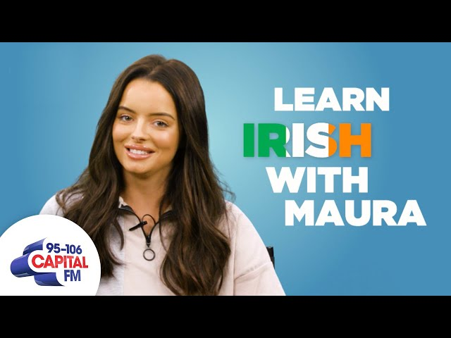 Love Island's Maura Teaches You Irish Slang 🇮🇪 | Capital