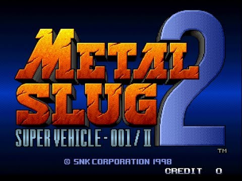 Metal Slug 2 Neo-Geo [Complete Playthrough/No Commentary]