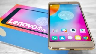 Lenovo K6 Note - Unboxing & Hands On