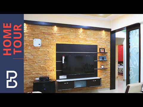 Walkthrough Of Mr. Arun 2 Bhk House  Interior Design