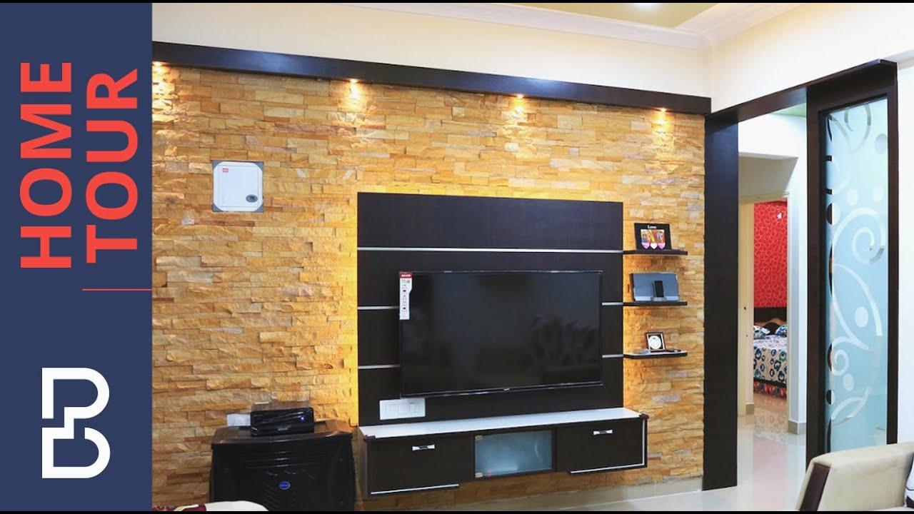 Walkthrough Of Mr Arun 2 Bhk House Interior Design
