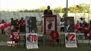 Memorial held for 3 teenagers killed in wreck in S. Fulton County