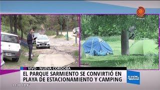 ¿Un camping en el Parque Sarmiento?