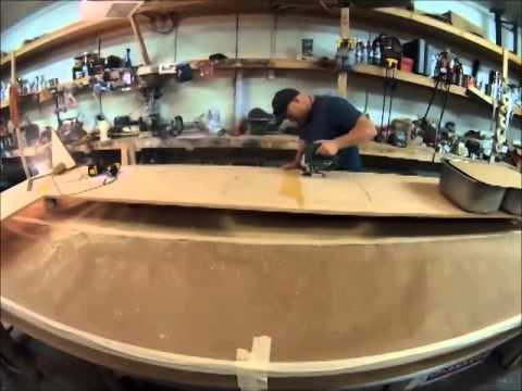 pallet countertop epoxy creating an epoxy countertop or an epoxy bartop youtube