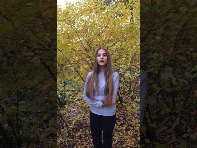 Изображение предпросмотра прочтения – КристинаГладкова читает произведение «Прохожий» М.И.Цветаевой