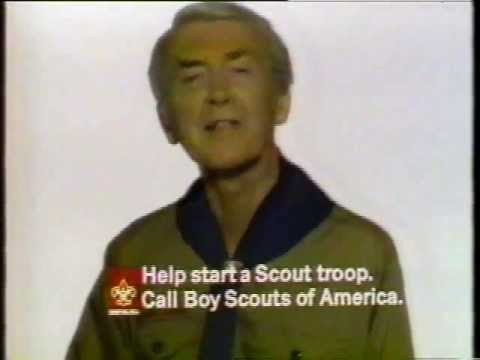 Image result for jimmy stewart psa for the boy  scouts of america