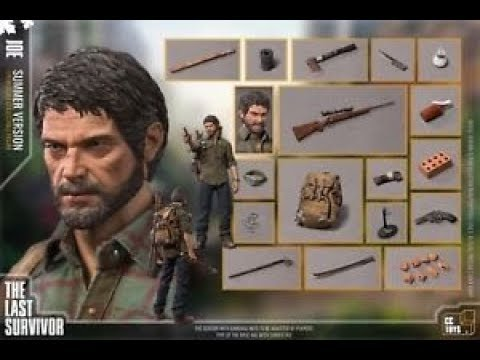 CCTOYS 1//6 The Last of Us 2  ELLI JOE CLICKER Action Figure Set Model Toy