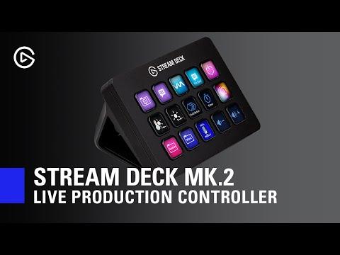 Elgato släpper Mk 2 av sitt Stream Deck Kontrollpanelen får sig en uppdatering