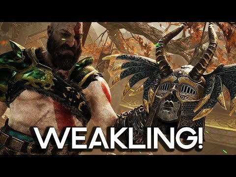 WEAKLING VALKYRIE IN GOD OF WAR 4! Gameplay Walkthrough Part 52!! (PS4 PRO 60FPS)