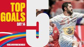 Top 5 Goals | Day 14 | Men's EHF EURO 2020