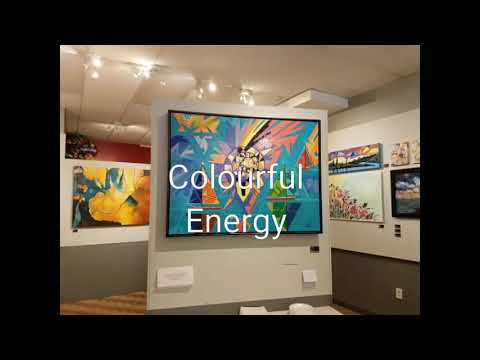 Art Exhibition Colourful Energy at Artusiasm