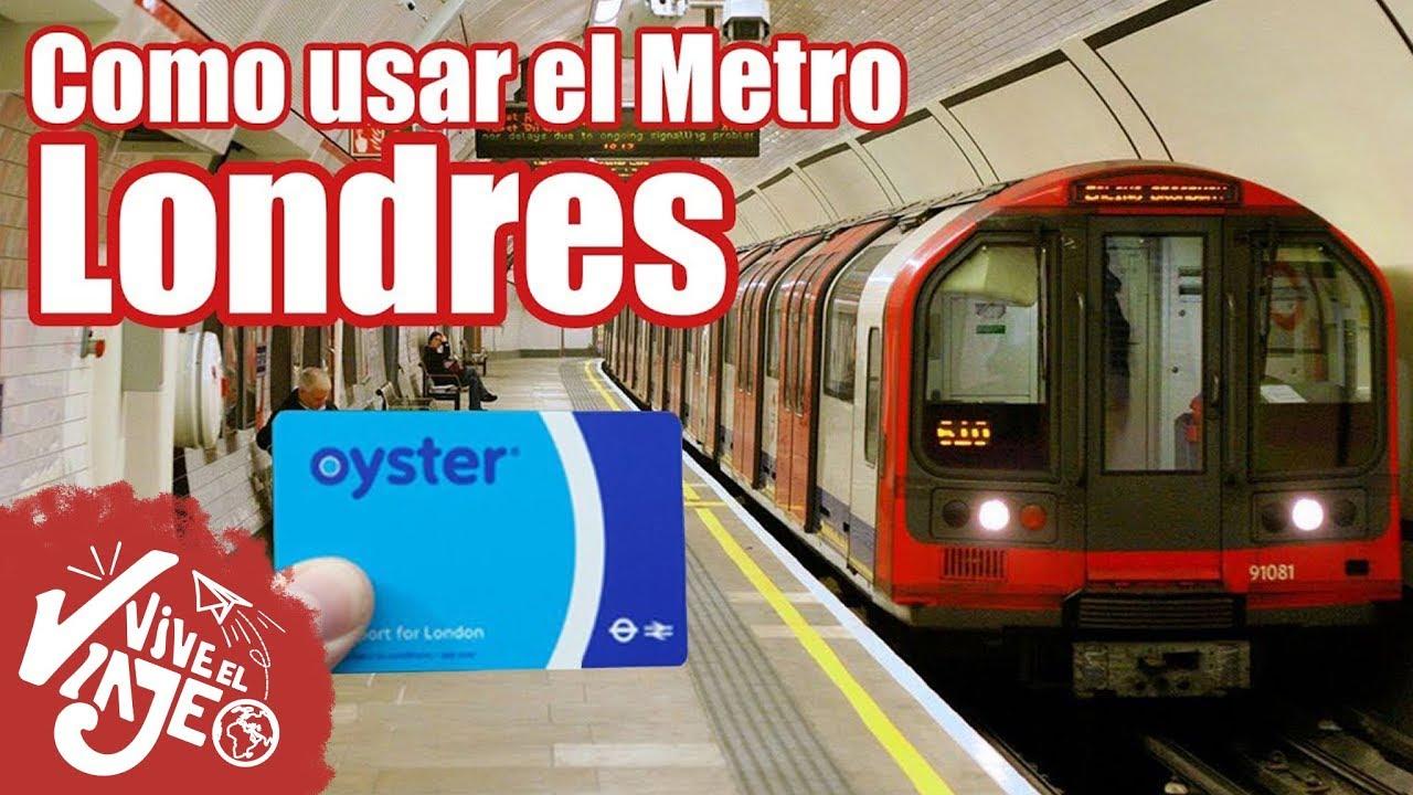 Como Usar El Metro De Londres Ultimo Vídeo De Londres 5 Youtube