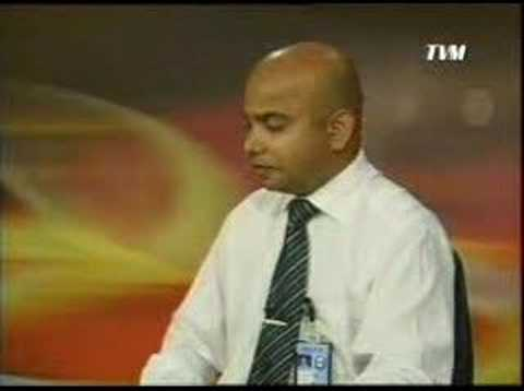 TV Maldives 8 o'clock news 15 April 2007