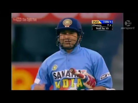Sachin Tendulkar 72 off 27 Balls vs  New Zealand Cricket Max International 2002