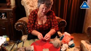 Как связать носки спицами начало - урок 2 для начинающих