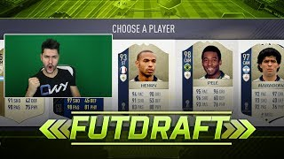 FIFA 18 WORLD CUP DRAFT ICON EDITION 😍 !!! FIFA 18 ULTIMATE TEAM DRAFT TO GLORY