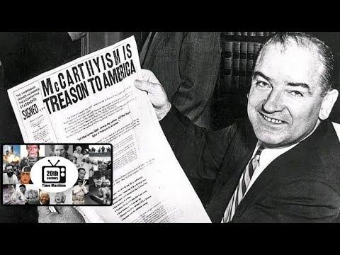 Senator McCarthy Interview: McCarthy's Communist Witch Hunt