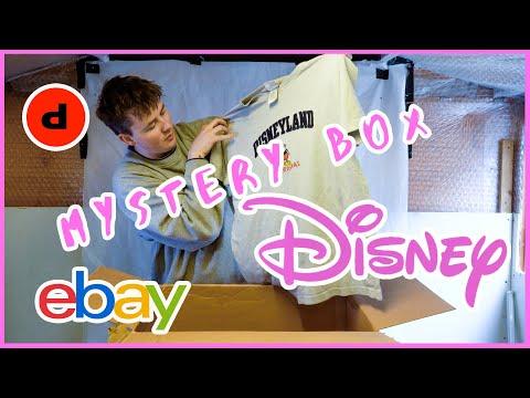 30 Vintage Disney T Shirt Mystery Box Unboxing Uk Depop Depop