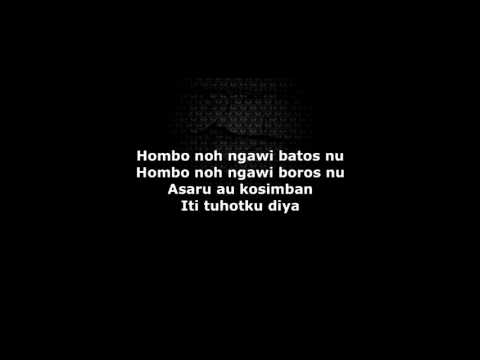 Hombo - Fanzi Ruji (Minus 1 + Lyric Video)