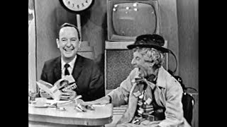 TODAY Show - Harpo reduces John Charles Daly to hysterics (May 3, 1961) [CLEANED UP VERSION]