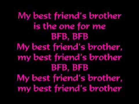 Victoria Justice - Best Friends Brother (BFB)  Lyrics
