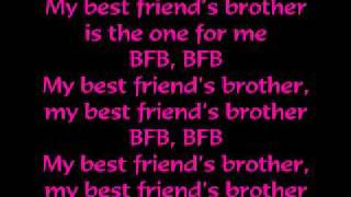 victoria justice best friends brother bfb lyrics