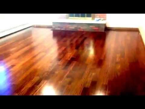 Brazilian Chestnut wood floor by Triangulo
