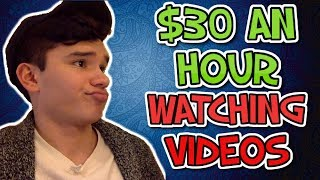 How To Make $30 Per Hour Just By Watching Videos Online (STUPID SIMPLE)