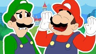 Mario Tells A Hilarious Joke