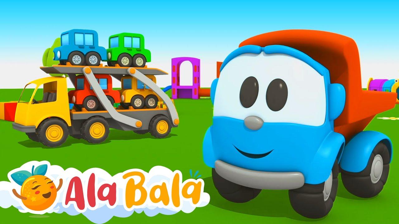 Download Super Camionul Leo și Mașinuțele 🚗 Desene animate pentru copii dublate în limba română de la AlaBala
