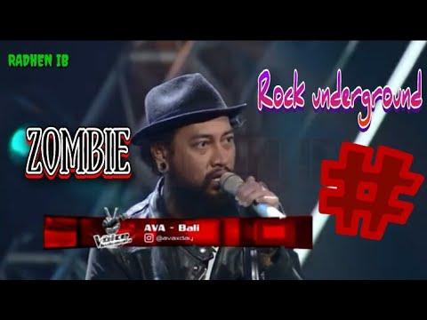 Ava Zombie The Voice Indonesia | Rock Underground Super Kekar
