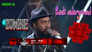 Download lagu ava zombie the voice Indonesia   rock underground super kekar