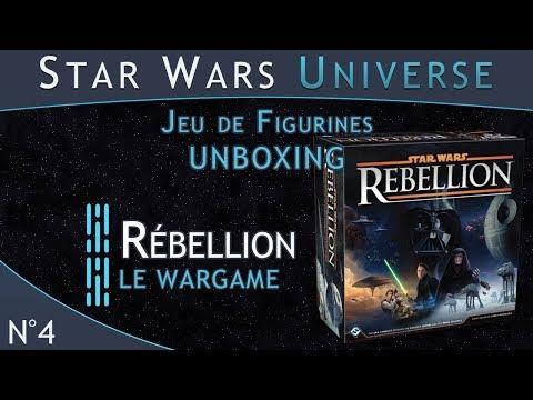 Présentation du Wargame Star Wars Rébellion.